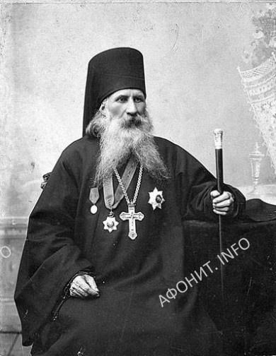 Преподобный Гавриил Афонский, игумен Ильинского скита