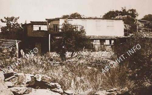 Дальняя Георгиевская келлия во времена отца Селевкия. Сегодня полностью разрушена