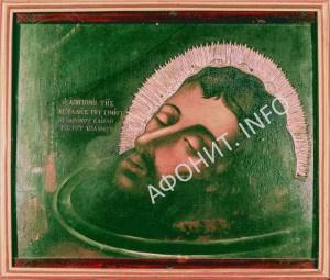 чудотворная икона Крестителя Господня Иоанна в русском монастыре на Афоне