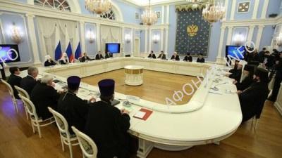 Заседание Общественно-попечительского совета Афонского Пантелеимонова монастыря