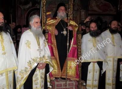 Панигир в афонском монастыре Григориат