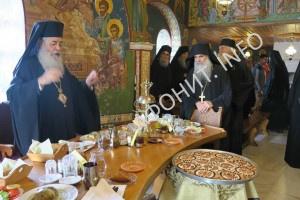 В Афонском монастыре Григориат почтили память схиархимандрита Георгия (Капсаниса)