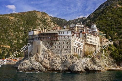 Монастырь Григориат. Святая Гора Афон