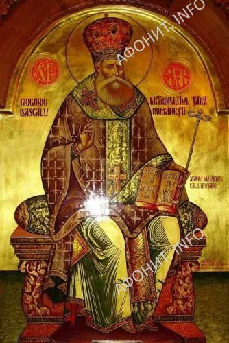 Свтитель Григорий IV (Даскэл), митр. Унгро-Влахийский