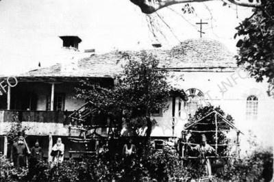 Грузинская келлия Иоанна Богослова на Афоне. Нач. ХХ века