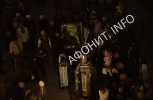 Тысячи православных жителей Харькова смогли поклониться святыням с Афона