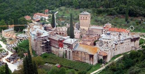 Восстановление монастыря Хиландар на Афоне