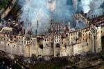 Пожар в сербском афонском монастыре Хиландарь