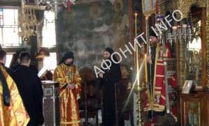Хмландар Хиландарский монастырь на Афоне
