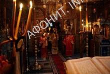 Богослужение на Афоне