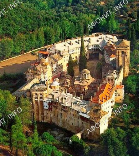 Монастырь Хиландар. Афон