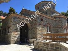 Первый на Афоне храм во имя прп. Паисия Святогорца