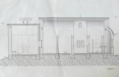 Макет нового храма Преображения на Вершине Святой Горы Афон