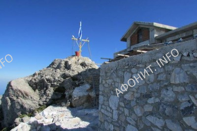 Храм Преображения на Вершине Святой Горы Афон