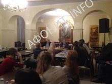 Встреча с православной молодежью Нью-Йорка