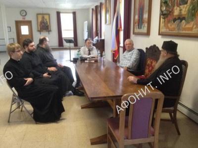 Встреча с духовенством