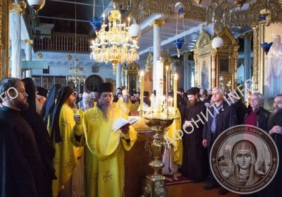 Многолетие отцу Игумену схиархимандриту Иеремии во время благодарственного молебна