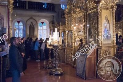 100-летний юбилей игумена Пантелеимонова монастыря на Афоне исхиархимандрита Иеремии (Алехина)