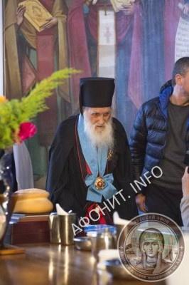 Игумен Иеремия (Алехин) в день своего 100-летия