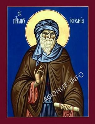 Прп. Иеремия Раифский (+ ок. 312)