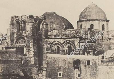 Храм Гроба Господня. Старый купол перед началом реставрационных работ