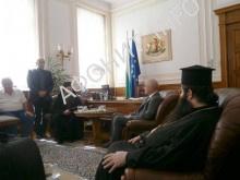 Глава парламента Болгарии встретился с делегацией Афонского Пантелеимонова монастыря