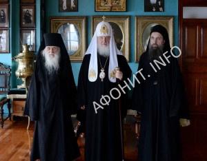 Патриарх Кирилл Игумен Иеремия (Алехин) Иеромонах Макарий (Макиенко)