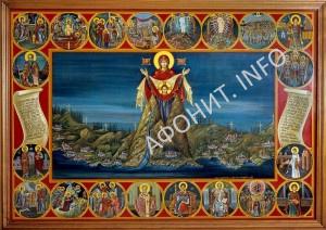 Икона Игумении Афонской Божией Матери Святая Гора Афон