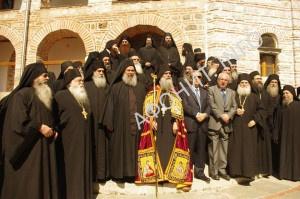 Игумен Афонского монастыря Григориат Христофор
