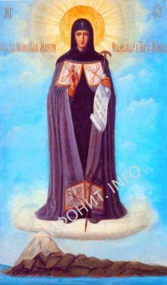 Икона Божией Матери Игумения Афонская