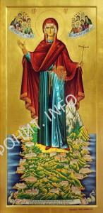 Икона Игумения Святой Горы Афон