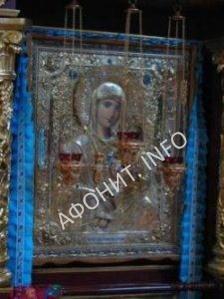 """Икона Божией Матери """"Утоли моя печали"""" с. Городница"""