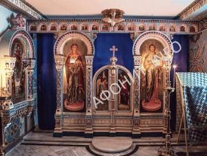 Иконостас храма Светописанного образа Божией Матери