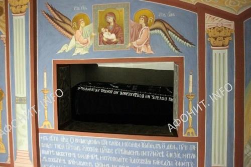 Росписи крипты Ильинского монастыря. Одесса
