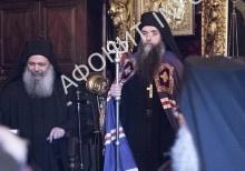 Интронизация игумена Пантелеимонова монастыря иеромонаха Евлогия (Иванова)