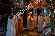Афонский монастырь Иверон посетил митрополит Лангадский Иоанн