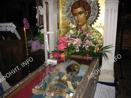 Рака с мощами святого Иоанна Русского