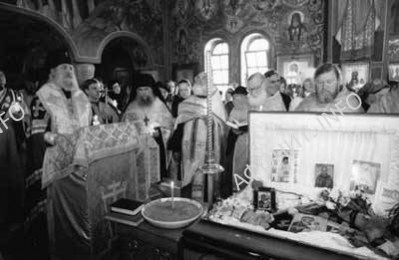 Отпевание мученика Иосифа Муньоса