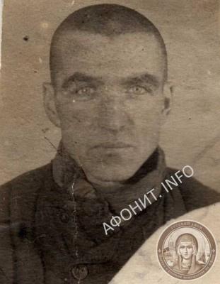 Арестованный в 1940 г. Иван Кудря, в монашестве Иов