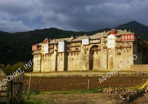 Иверон, Иверский монастырь в честь Успения Пресвятой Богородицы на Афоне
