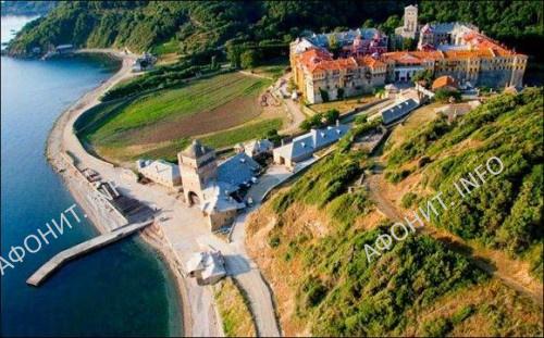 Иверский монастырь на Святой горе Афон