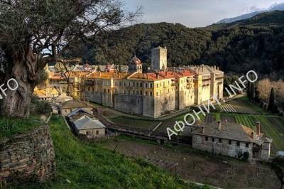 Иверон - древний Иверский монастырь на Афоне