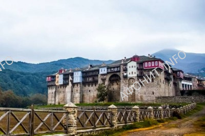 Иверон Иверский монастырь на Афоне