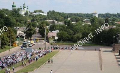 Торжества в честь 1000-летия древнерусского монашества на Афоне в Чернигове