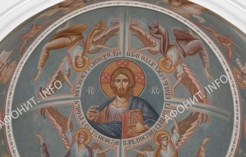 Росписи церкви симонопетрской келии Святого Мины в Карее. Афон