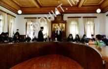 Встреча Патриарха Кирилла с членами Св. Кинота Афона