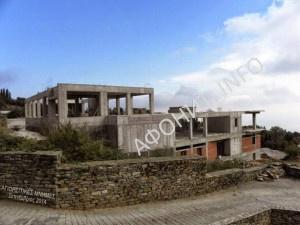 На Афоне строятся здания больницы и гражданской администрации Святой Горы