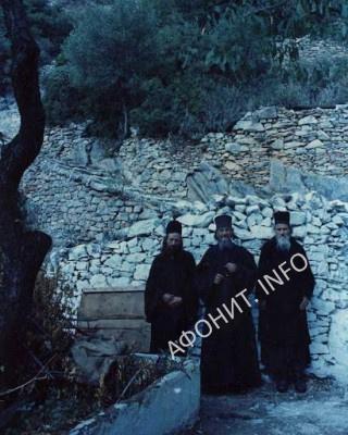 Карульские отцы: Стефан, Никодим и Серафим, середина 1970-х (РПЦЗ)