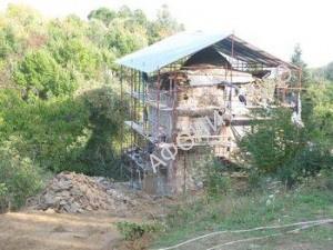 Келлия св. Стефана - начало реставрации
