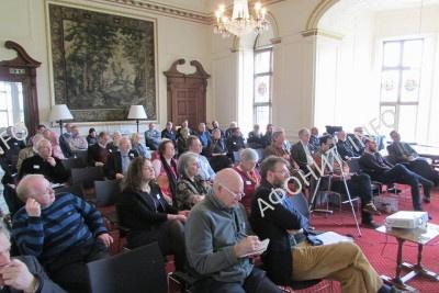 На международной конференции «Святая Гора Афон и Русь: 1016-2016» в Кембридже, 3 - 5 февраля 2017 г.